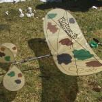 Orrins' paint job on flutter-by