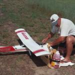 Orrin's first plane, the Nexstar