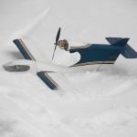 First snow landing