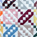 View of quilting from front