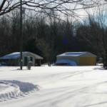 Camp headquarters and Purlile Pavilion
